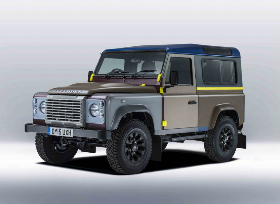Land Rover Defender Paul Smith 1