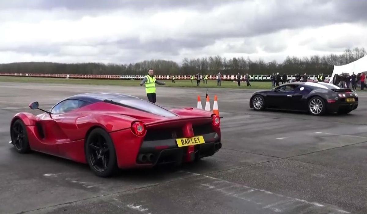Ferrari LaFerrari VS Bugatti Veyron: futuro contra pasado