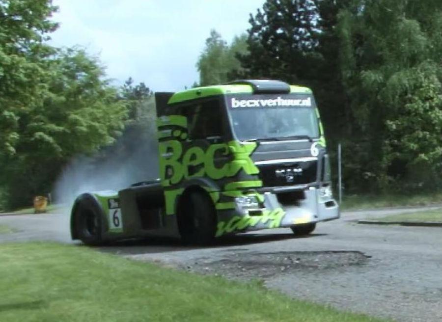 Gymkhana camion