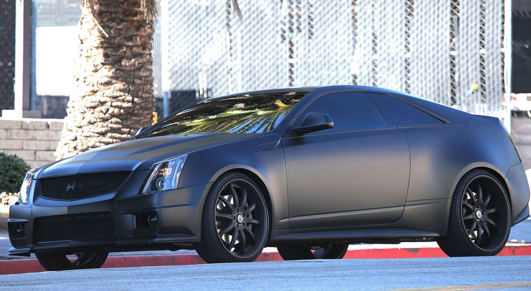 Justin Bieber Cadillac CTS-V 1