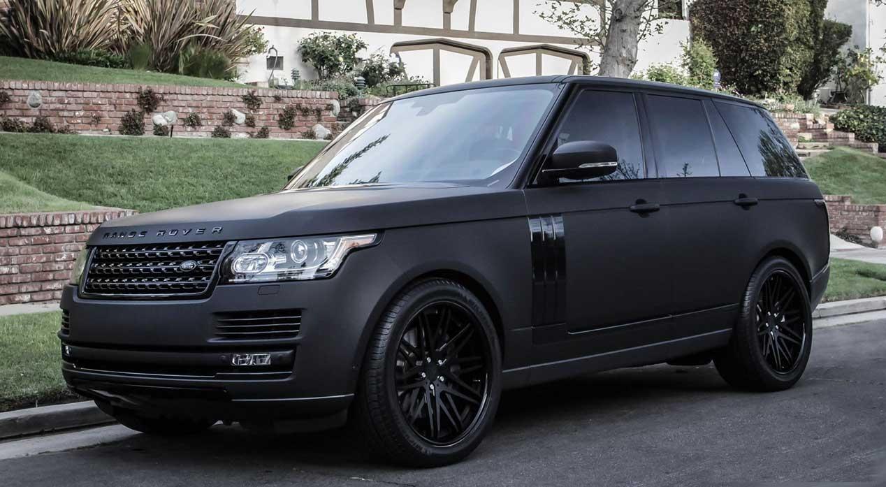Justin Bieber Range Rover