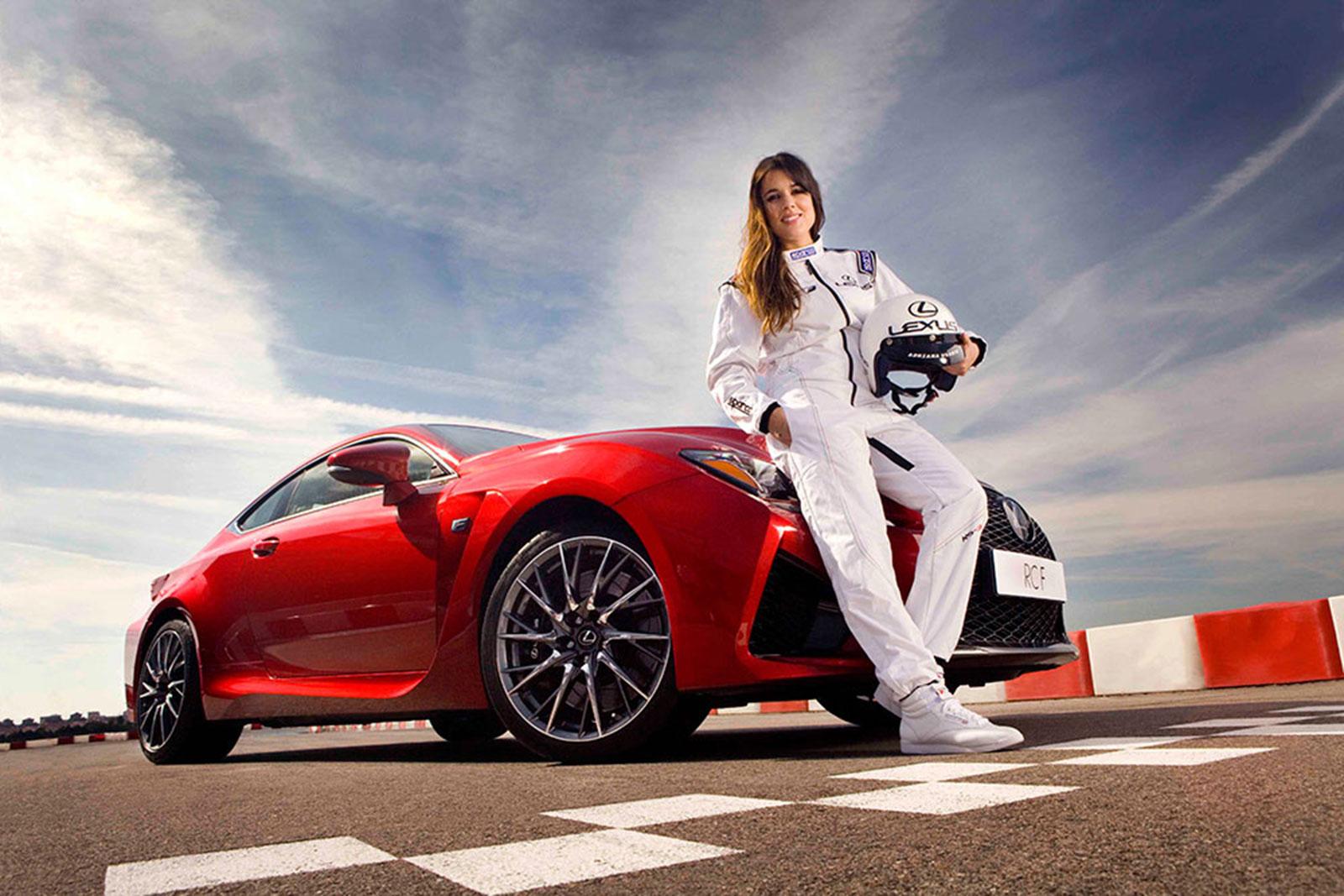 Lexus RC F Adriana Ugarte