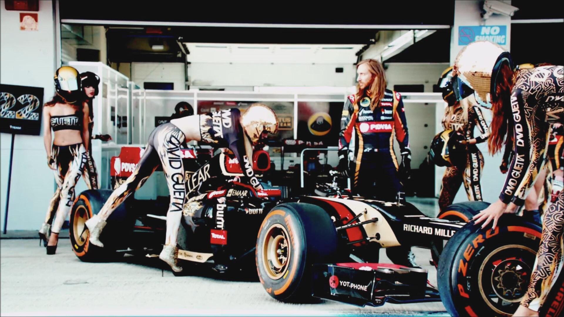 Lotus F1 David Guetta