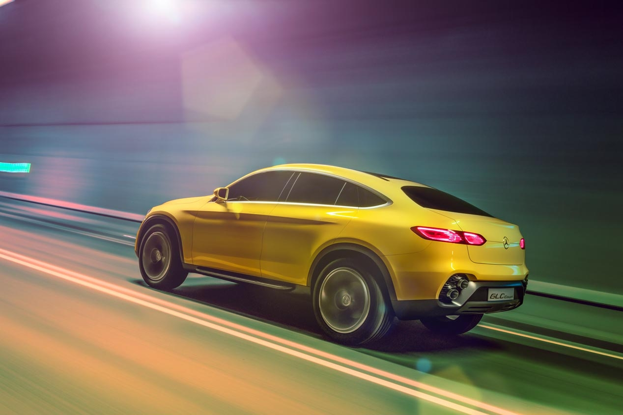 Mercedes GLC Coupe 2