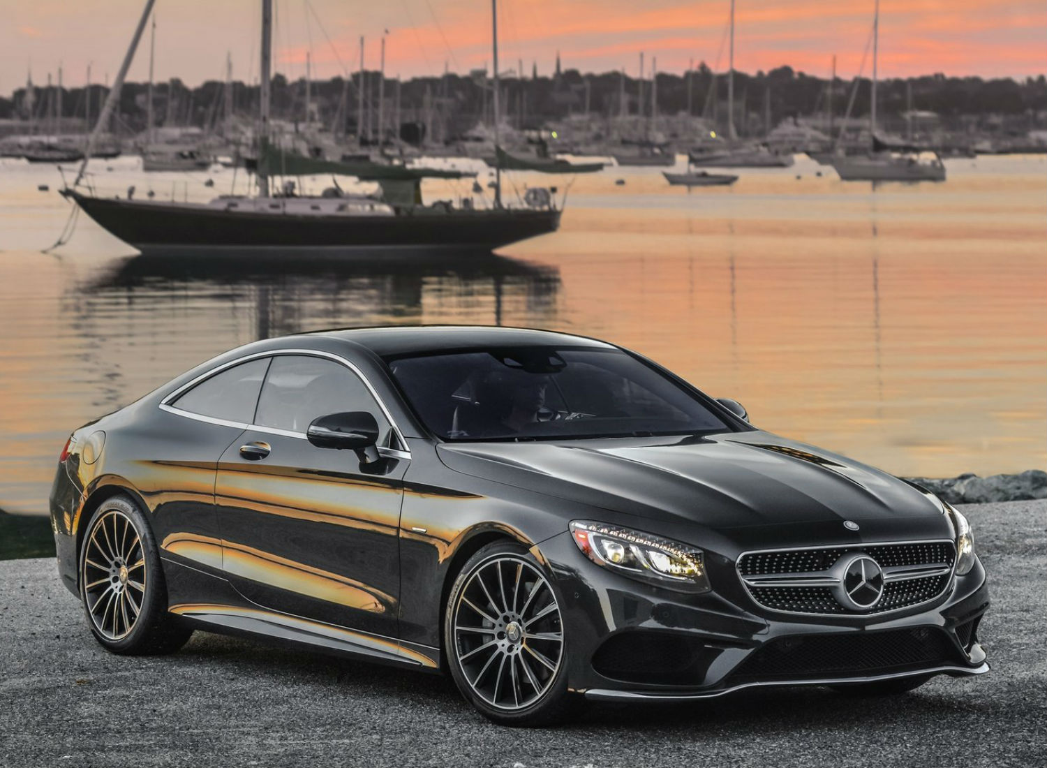 Mercedes S550 Coupe