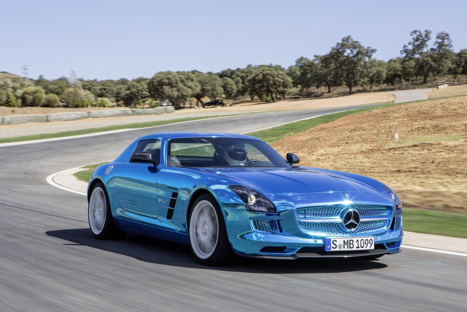 Mercedes SLS AMG Electric Drive 2