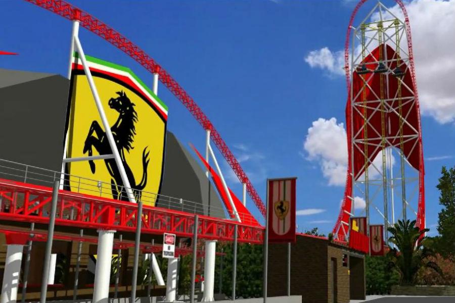 Parque temático Ferrari 1