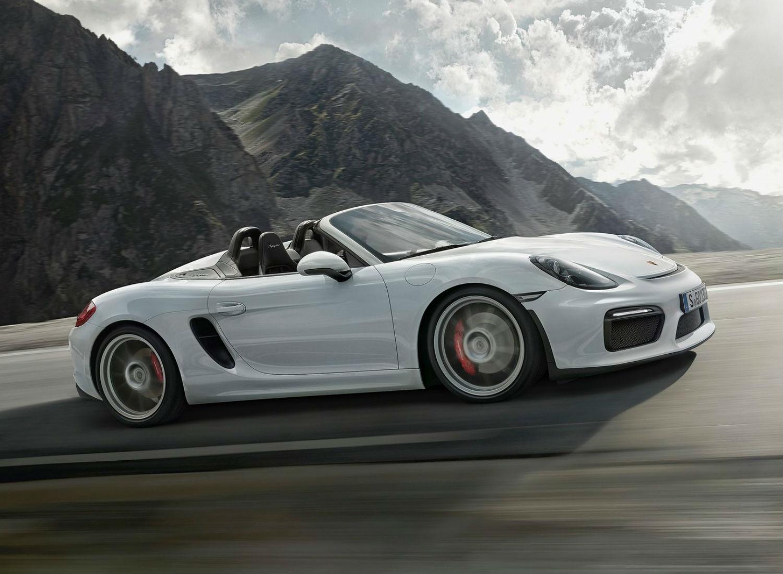 Porsche Boxster Spyder, el descapotable descapotable