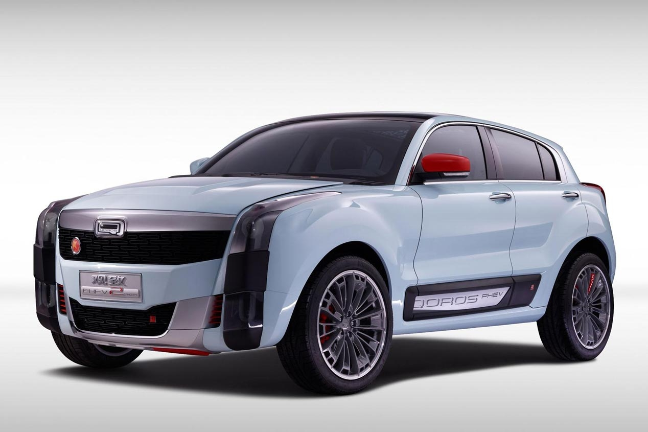 Qoros 2 SUV PHEV Concept 1