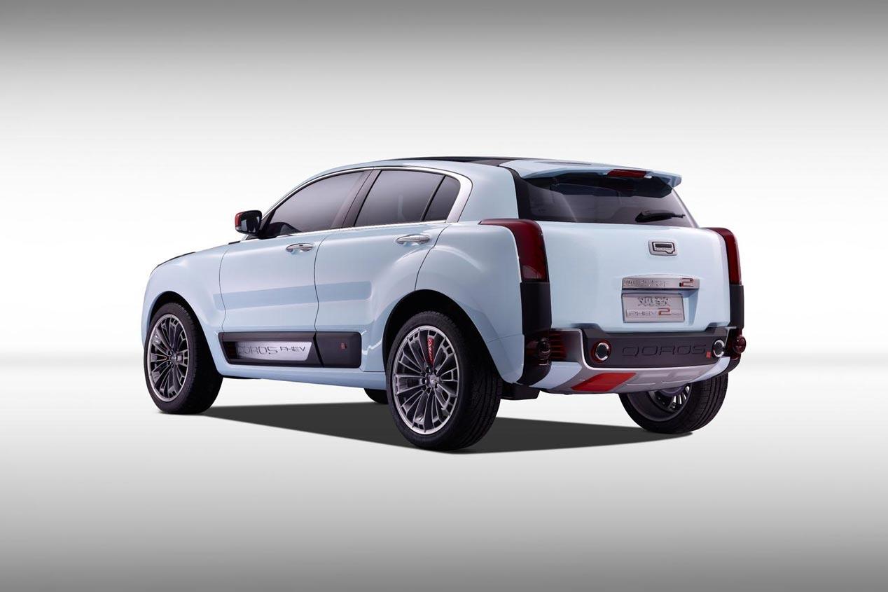 Qoros 2 SUV PHEV Concept 2