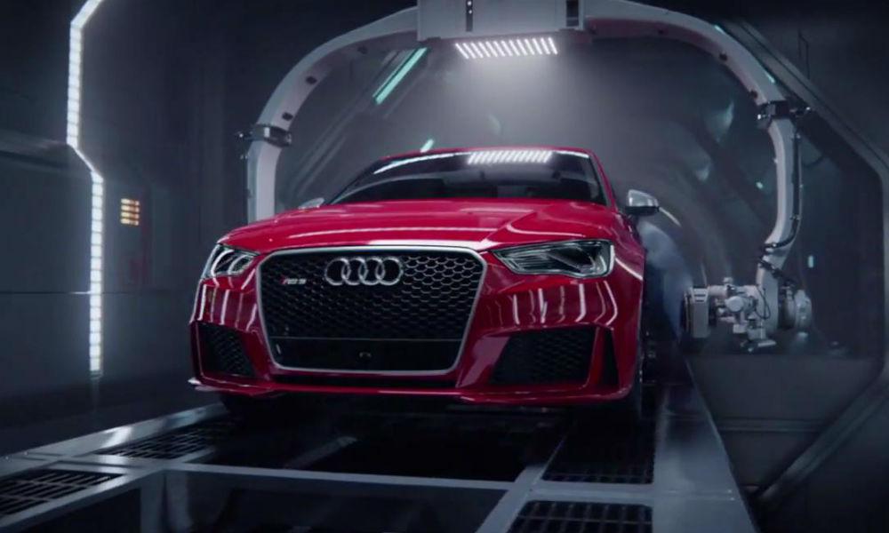 Audi RS3 nace