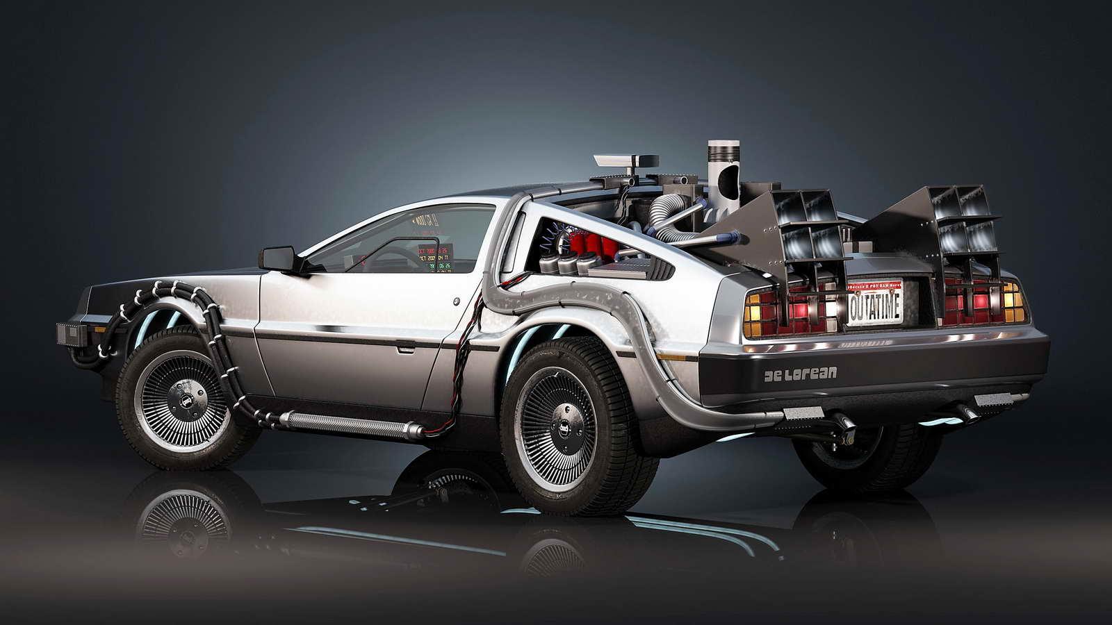 El DeLorean de 'Regreso al Futuro' vuelve a la vida