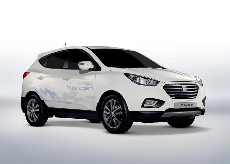 Hyundai Tucson Fuel Cell, el coche que 'va a pilas'