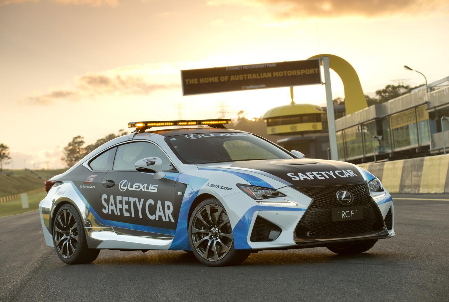 Lexus RC F Safety Car 1