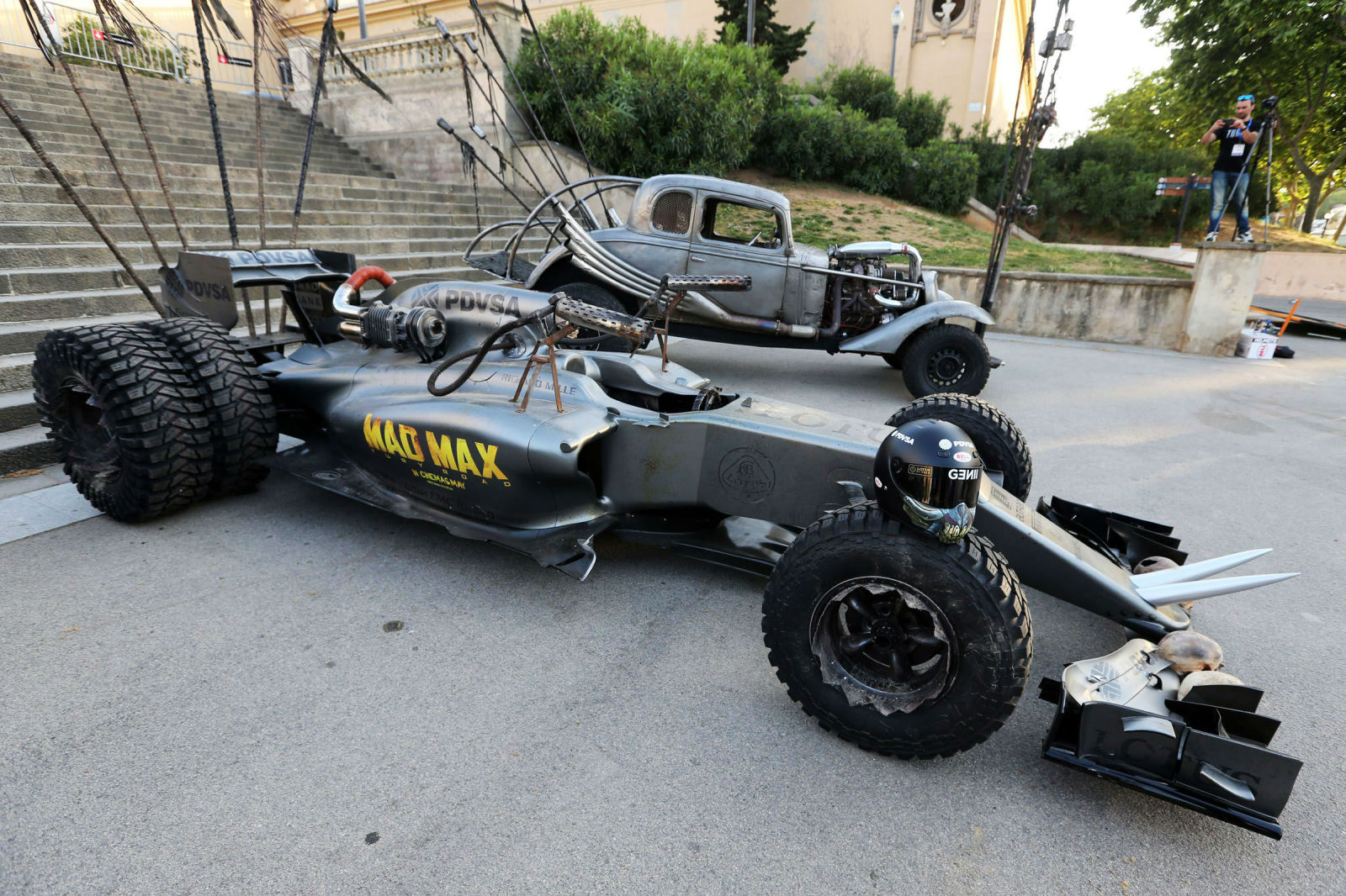 Cinco Fórmula 1 de película
