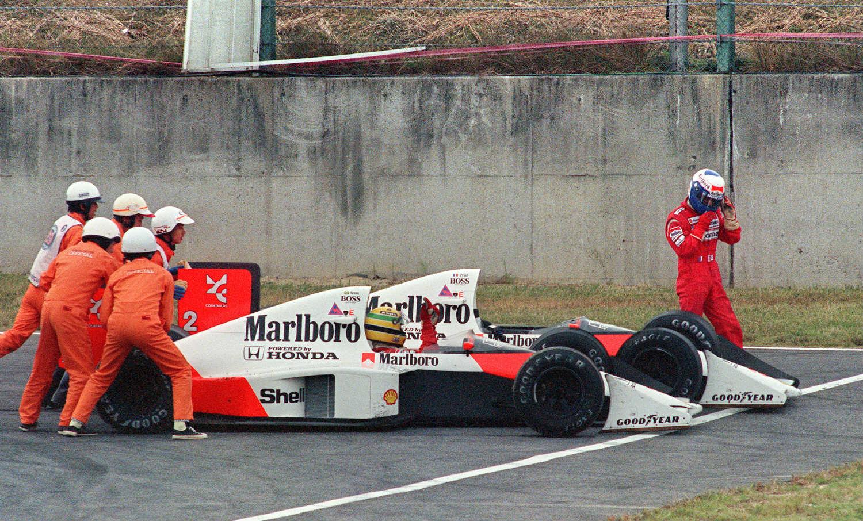McLaren Ayrton Senna VS Alain Prost 1
