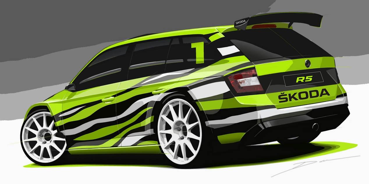 Skoda Fabia Combi R5 Concept 2
