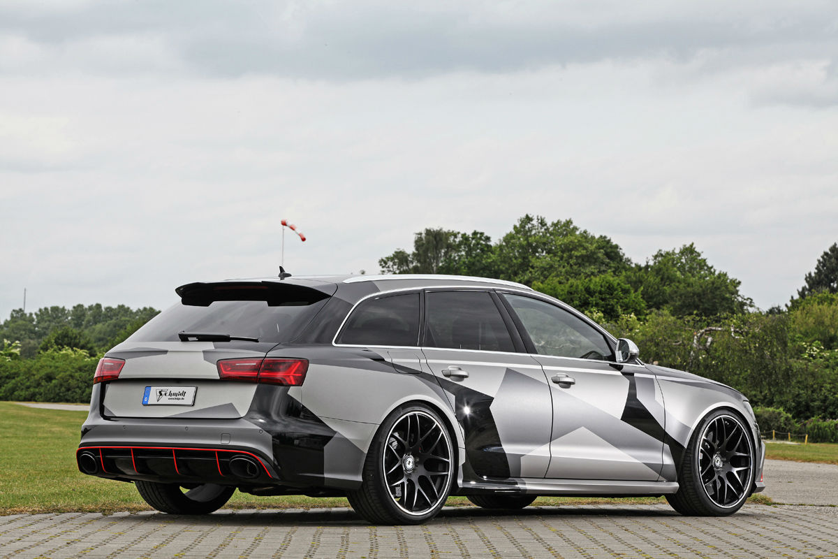 Audi RS6 Avant Schmidt Revolution 2
