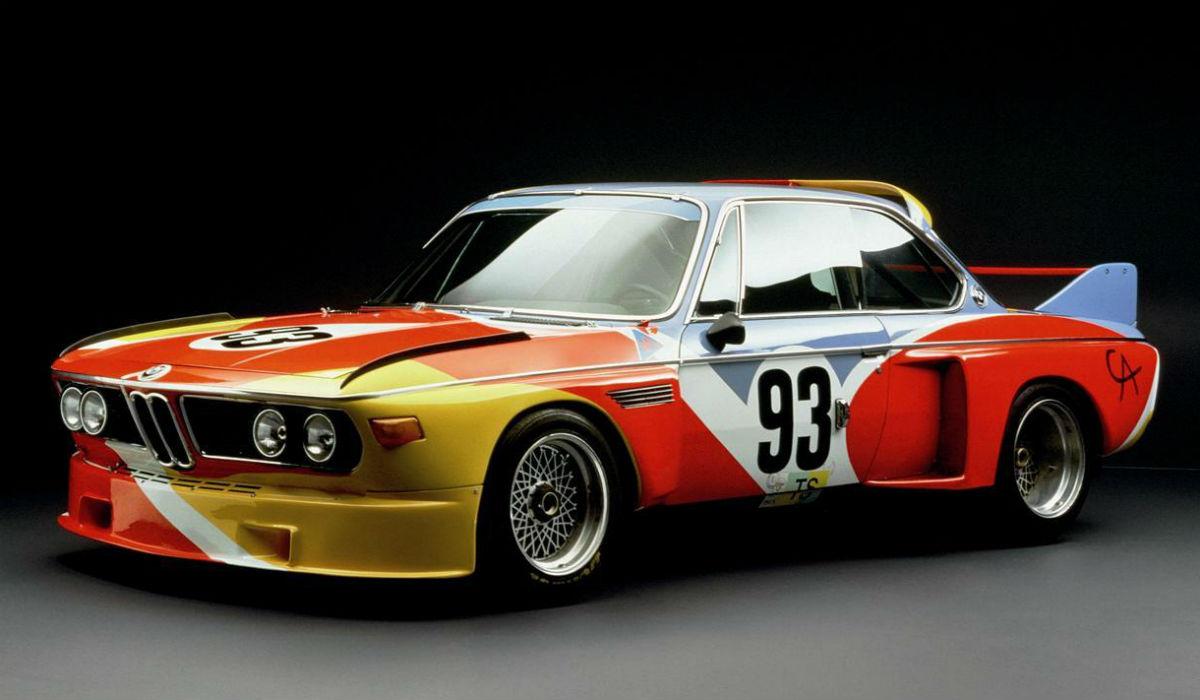 BMW 3.0 CSL Alexander Calder