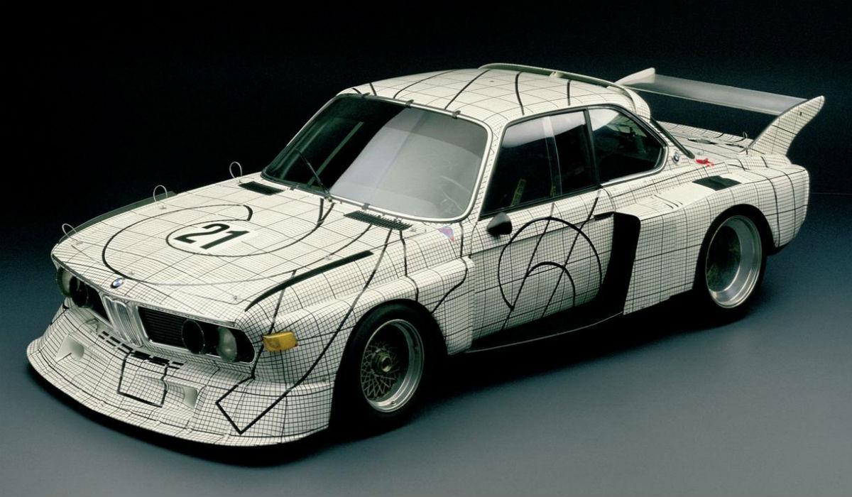 BMW 3.0 CSL Frank Stella