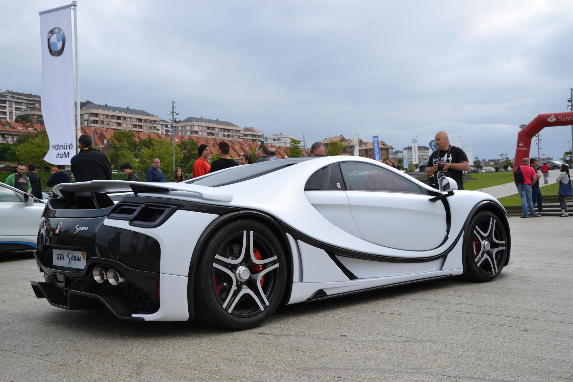 GTA Spano: un español entre los más grandes