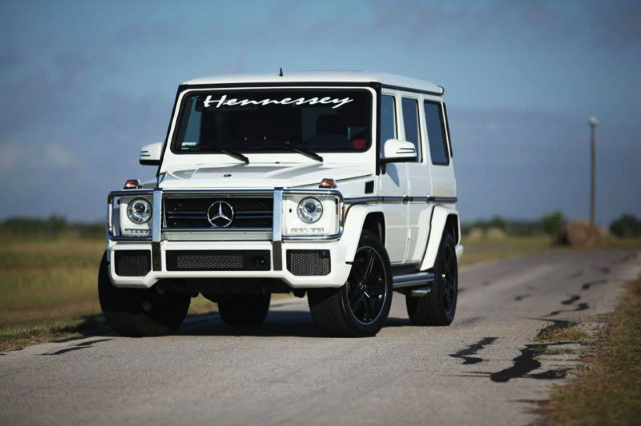 Hennessey Mercedes G63 AMG HPE700