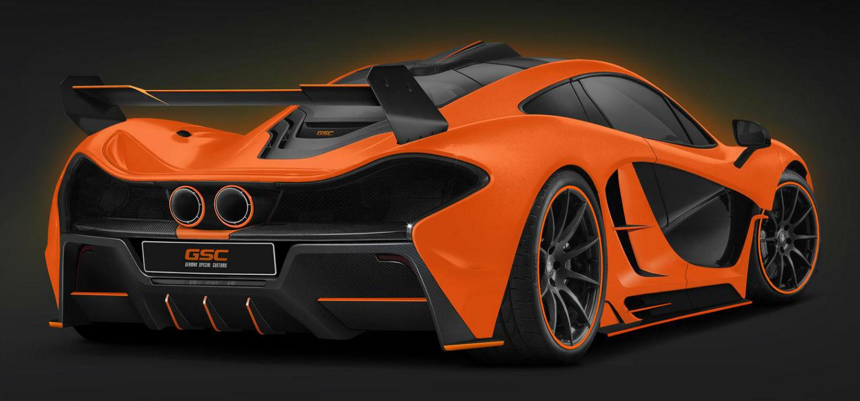 McLaren P1 German Special Customs 2