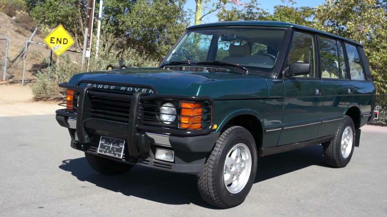 Range Rover segunda generacion