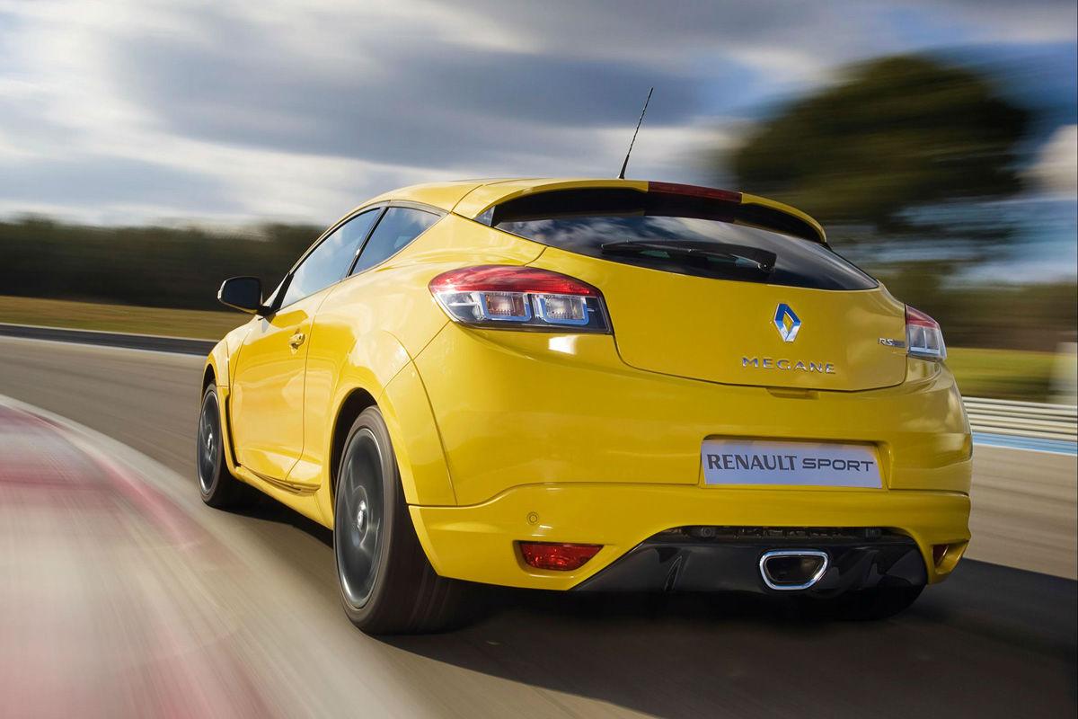 Accidente de un Renault Mégane RS en Nürburgring