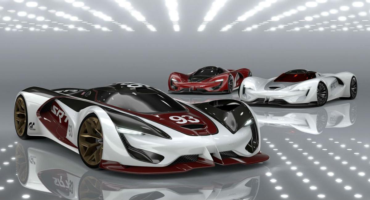 SRT Tomahawk Vision Gran Turismo 2