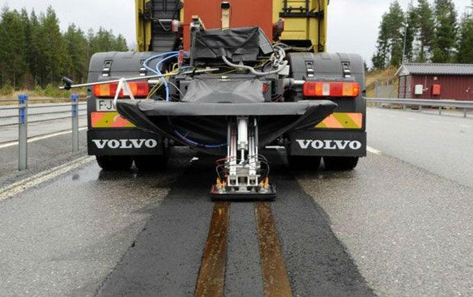 Volvo carretera eléctrica