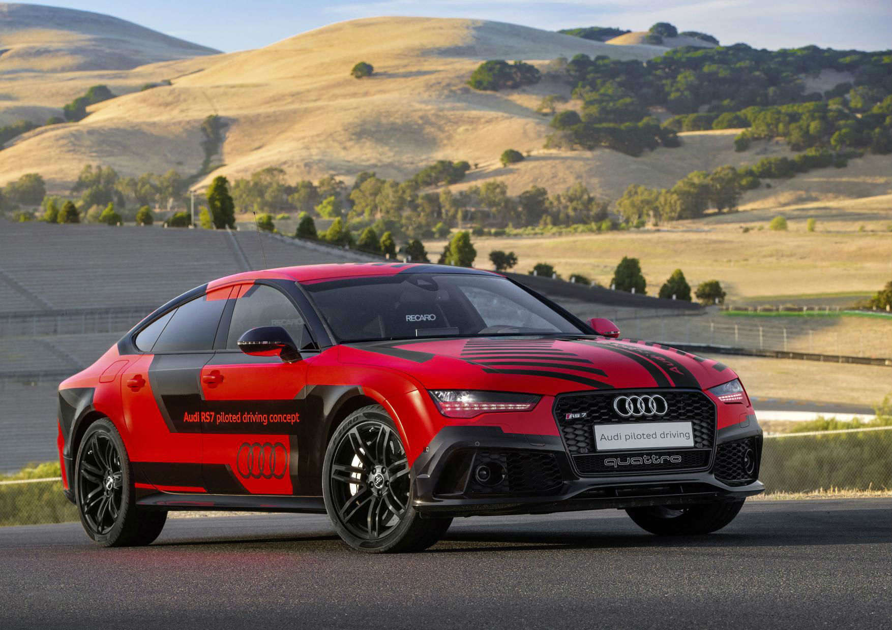 Audi RS7 piloted driving concept 1