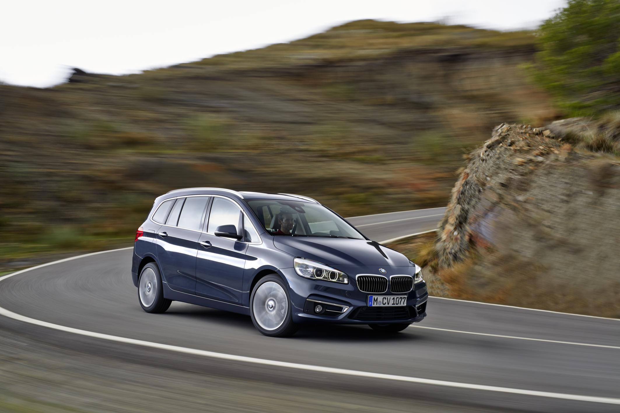 BMW Serie 2 Gran Tourer: el coche de la 'tribu de los Brady'