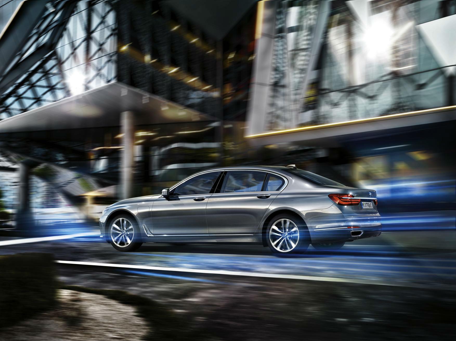 BMW Serie 7 PHEV: la versión híbrida enchufable