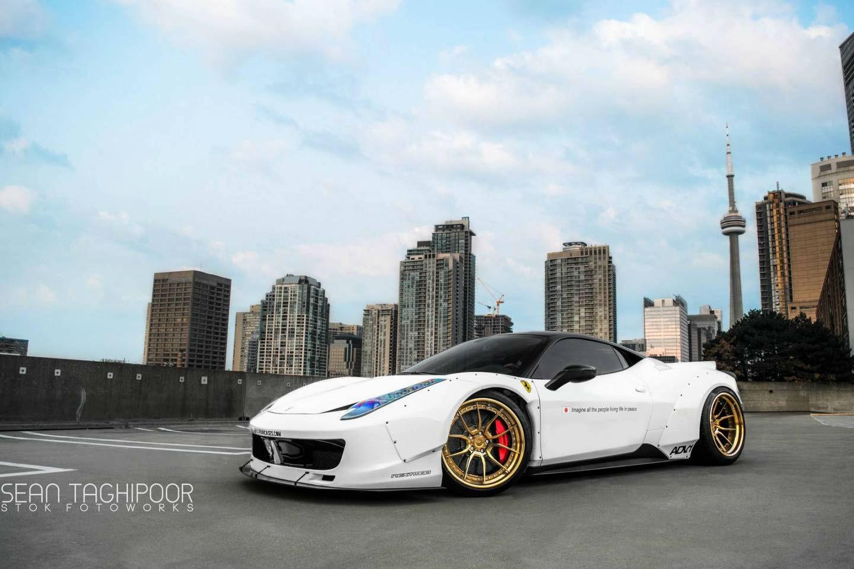 Ferrari 458 Italia Liberty Walk 1