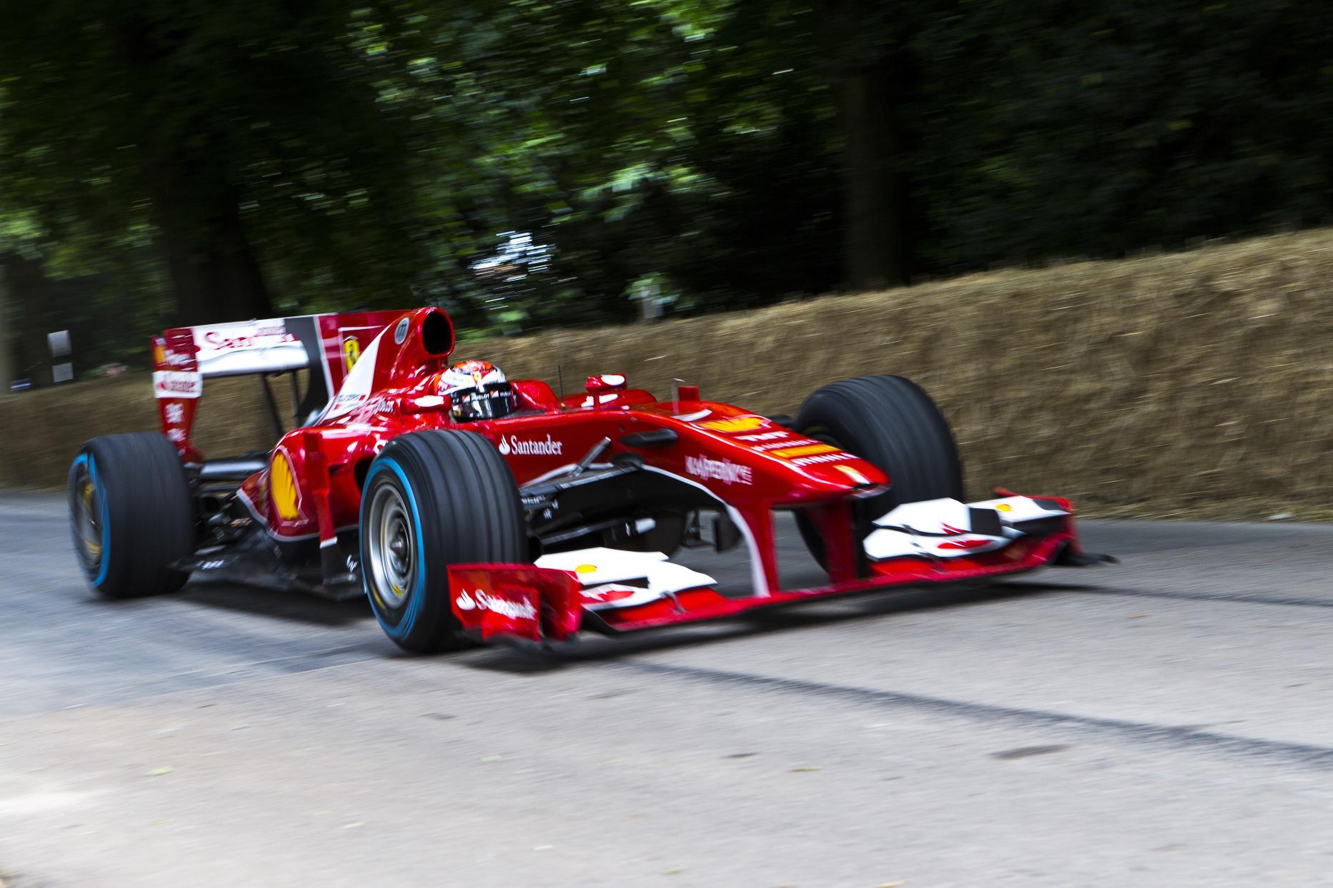 Goodwood Kimi Raikkonen