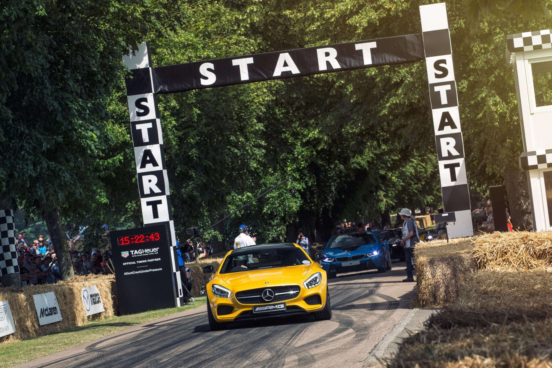 Goodwood Mercedes AMG GT