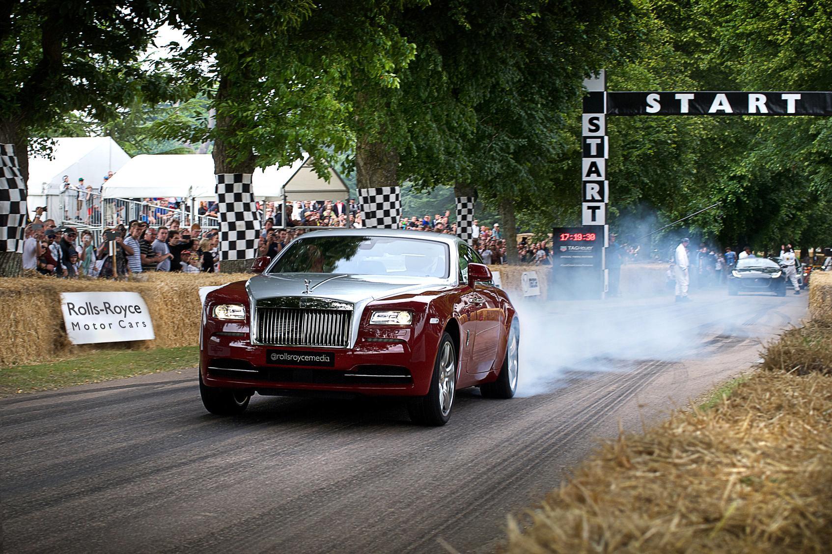 Goodwood Rolls Royce