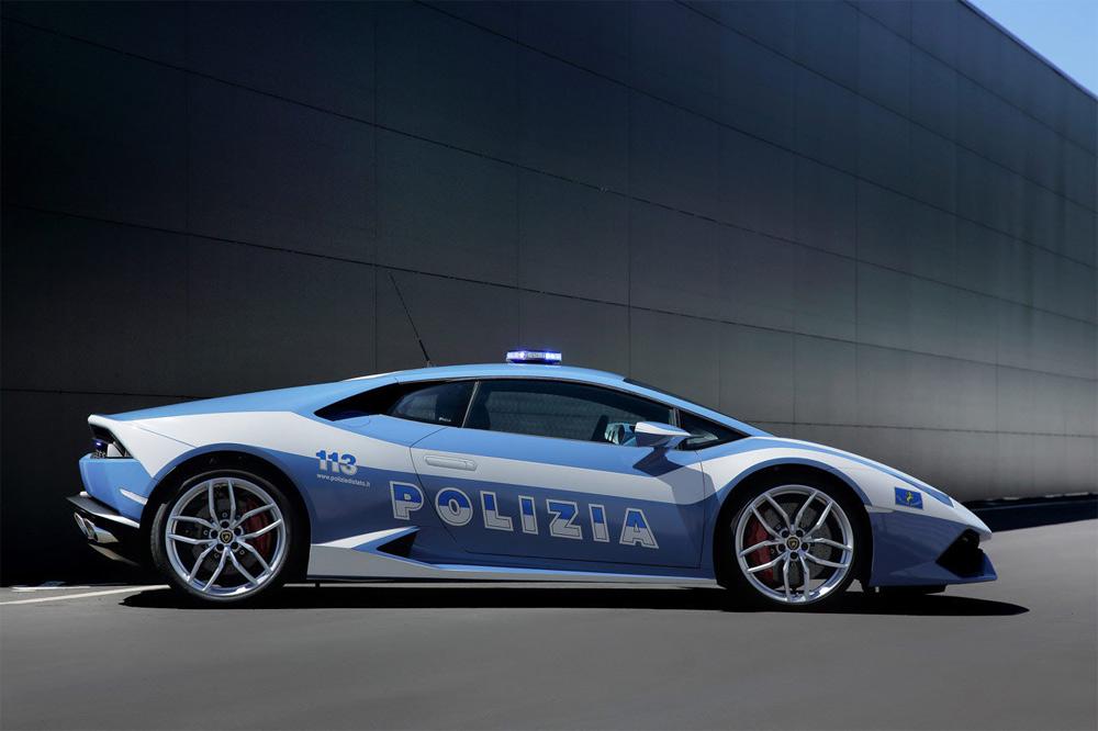 Huracan-Policía-italiana