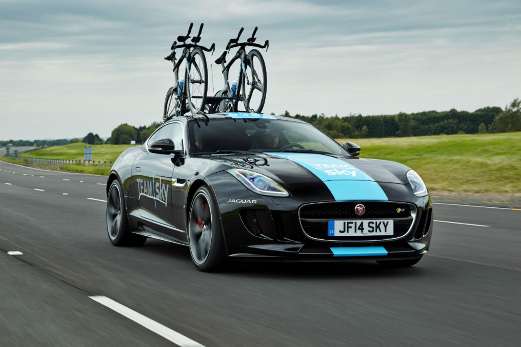 Jaguar F Type Team Sky 1