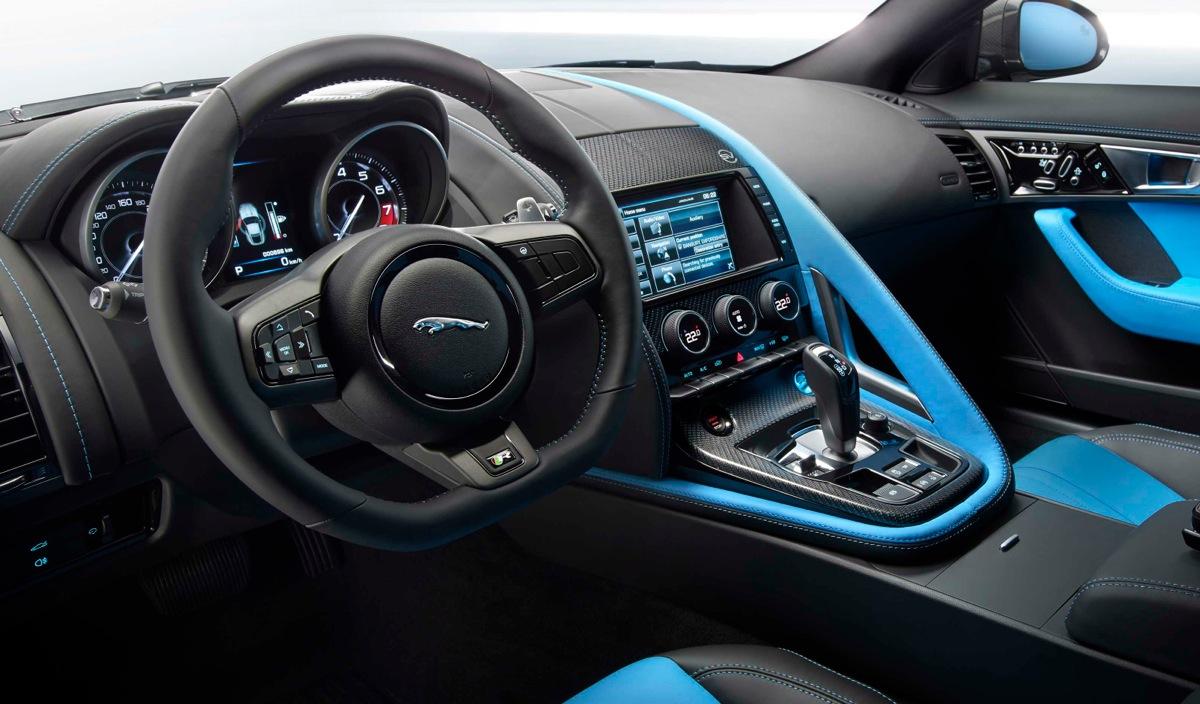 Jaguar F Type Team Sky 2