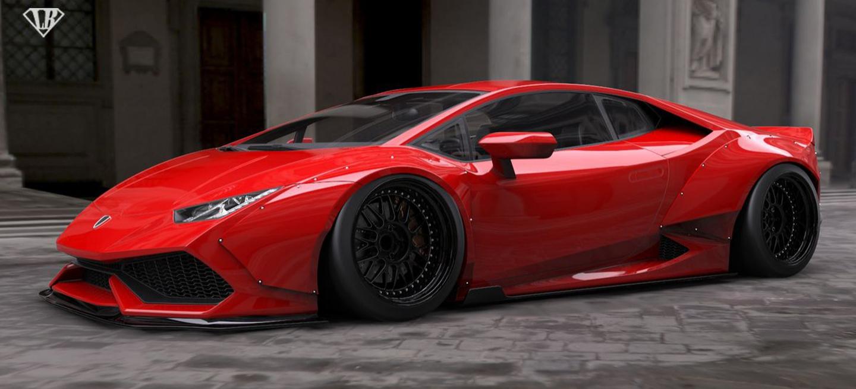 Lamborghini Liberty Walk 1