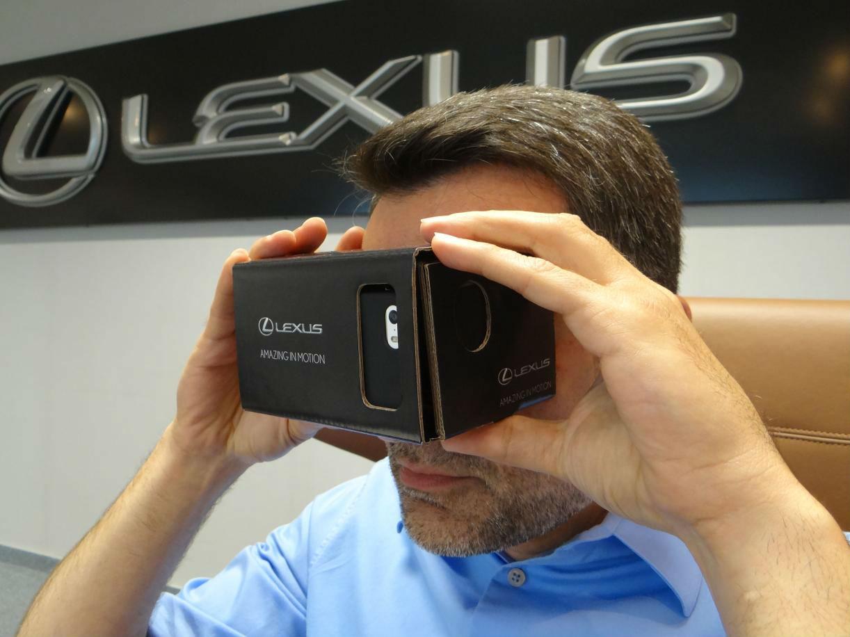 Lexus realidad virtual 1