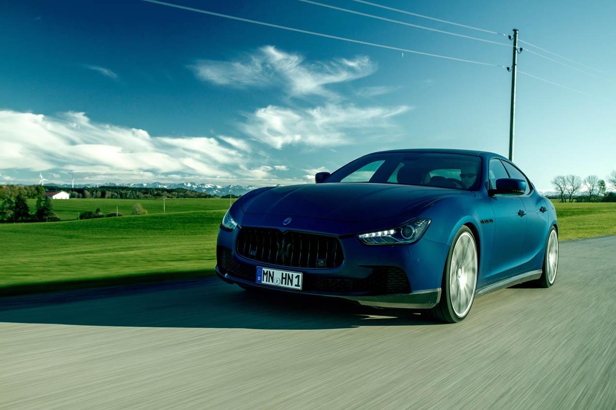 Maserati Ghibli Novitec Tridente 2