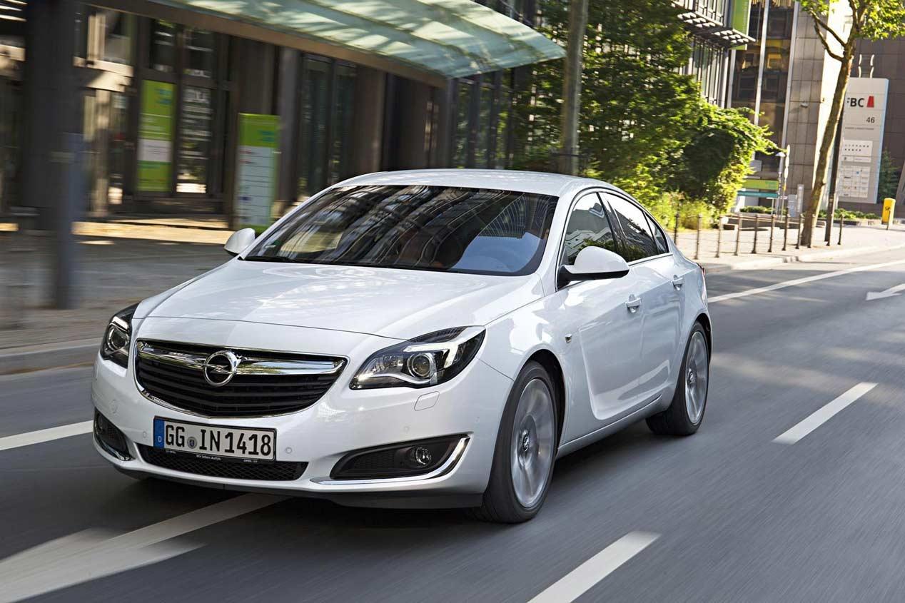 Opel Insignia: nuevos motores y más equipamiento