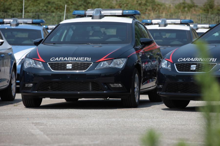 Seat Leon policia italiana 2