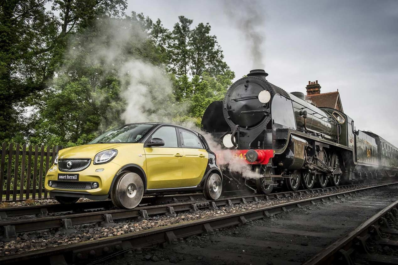 Smart ForFour Forrail 1