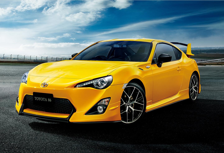 Toyota GT86 Yellow Edition 1