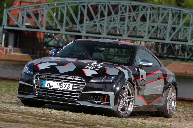 Un Audi TT muy en forma