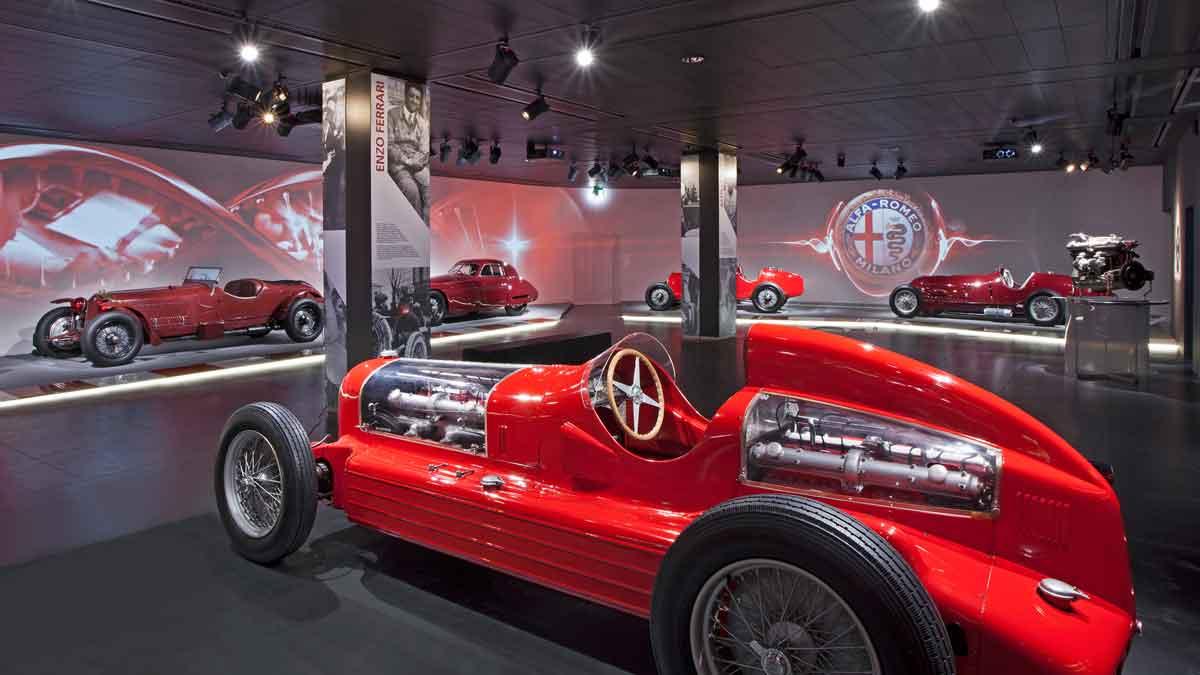 Museo Alfa Romeo: un lugar de culto